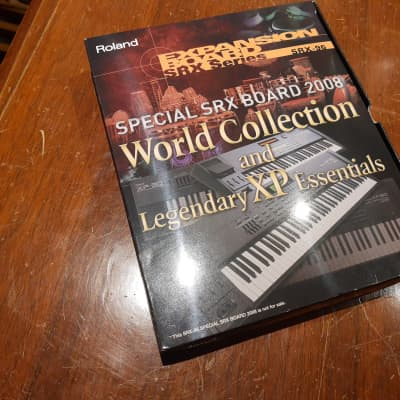 Roland SRX-96 World Collection and Legendary XP Essentials 2008 N/A