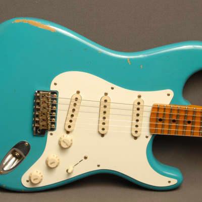 Fender  Custom Shop Stratocaster 1957 Relic Taos Tourquase Taos Tourquase for sale