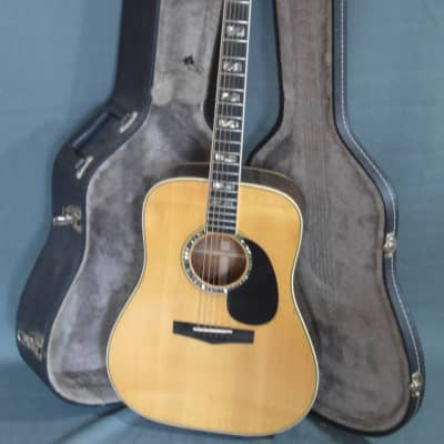 Vintage TAMA TM-201 Acoustic Guitar Made in Japan 1977 for sale