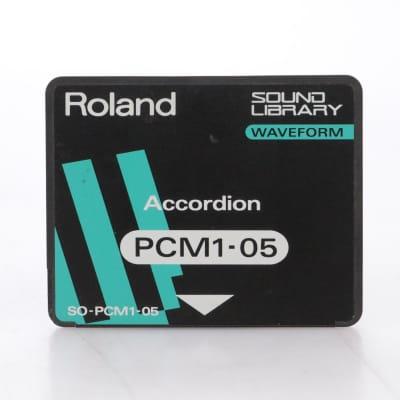 Roland SO-PCM1-05 Accordion Sound Library Waveform Card for JV-80 #44284