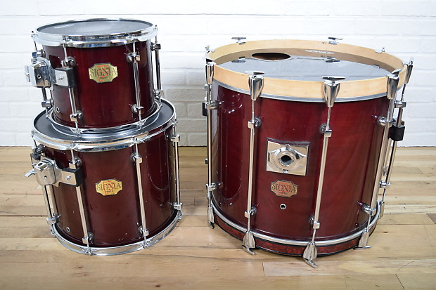premier signia maple drum set kit awesome used drums for reverb. Black Bedroom Furniture Sets. Home Design Ideas