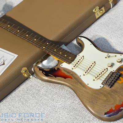 Fender Custom Shop Rory Gallagher Signature Strat Relic 3 Color Sunburst for sale