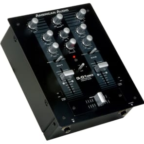 American Audio QD1-MkII 2-Channel DJ Mixer