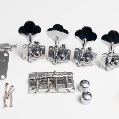 Fender Squier Frank Bello Artist Signature Jazz Bass Precision Tuners Bridge Plate Knobs Hardware