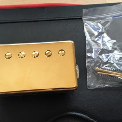 Stew Mac Golden Age Bridge Pickup  2010s Gold for sale
