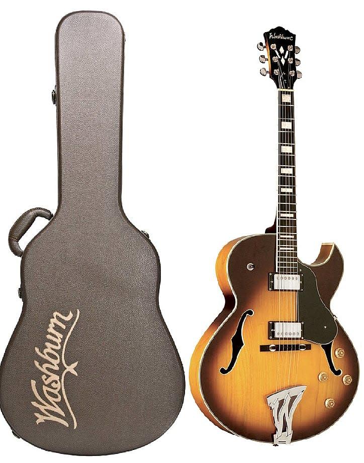 washburn j3tsk tobacco sunburst jazz electric guitar free reverb. Black Bedroom Furniture Sets. Home Design Ideas