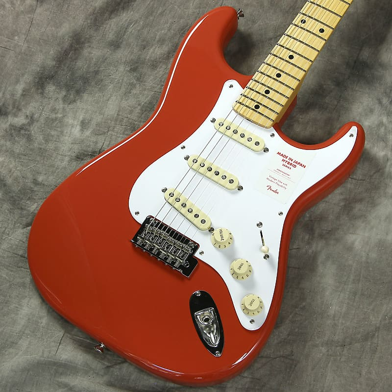Fender Japan Hybrid 50s Stratocaster Fiesta Red - Free Shipping*