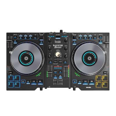 Hercules DJControl Jogvision - DJ Controller w/ Built-In Mixer & Serato DJ Lite