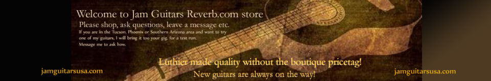 Jam Guitars USA - Find YOUR sound, with something new and different!