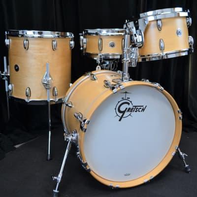 """Gretsch 18/12/14/5.5x14"""" Brooklyn Drum Set - Maple Satin"""