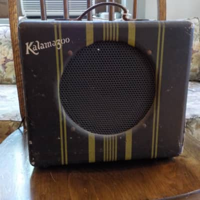 Kalamazoo KEH  amp 1940 Dark Brown/stripes for sale