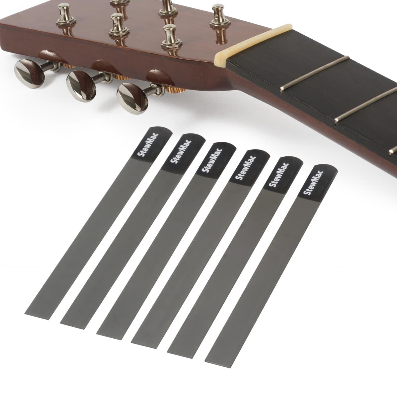 stewmac gauged nut slotting file set for acoustic guitar for reverb. Black Bedroom Furniture Sets. Home Design Ideas