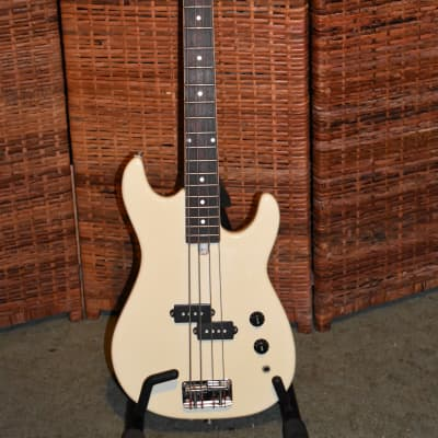 Kingston Short Scale Bass 1980's White for sale