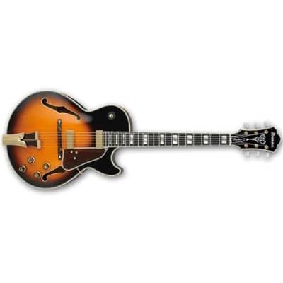 Ibanez George Benson Signature GB10 Hollow Body Electric Guitar, 22 Frets, GB 3 Piece Maple Set-In Neck, Bound Ebony Fretboard, Passive Pickup, Medium for sale