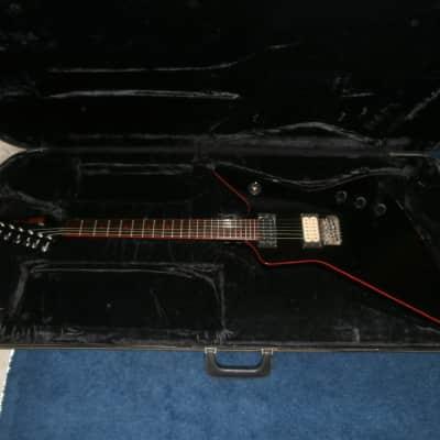 Vintage 1980's Hohner Professional EX Devil Explorer Electric Guitar w/ Case! for sale
