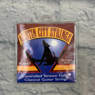 Austin City Strings ACN-CS Straight End Nylon Classical Acoustic Guitar Strings