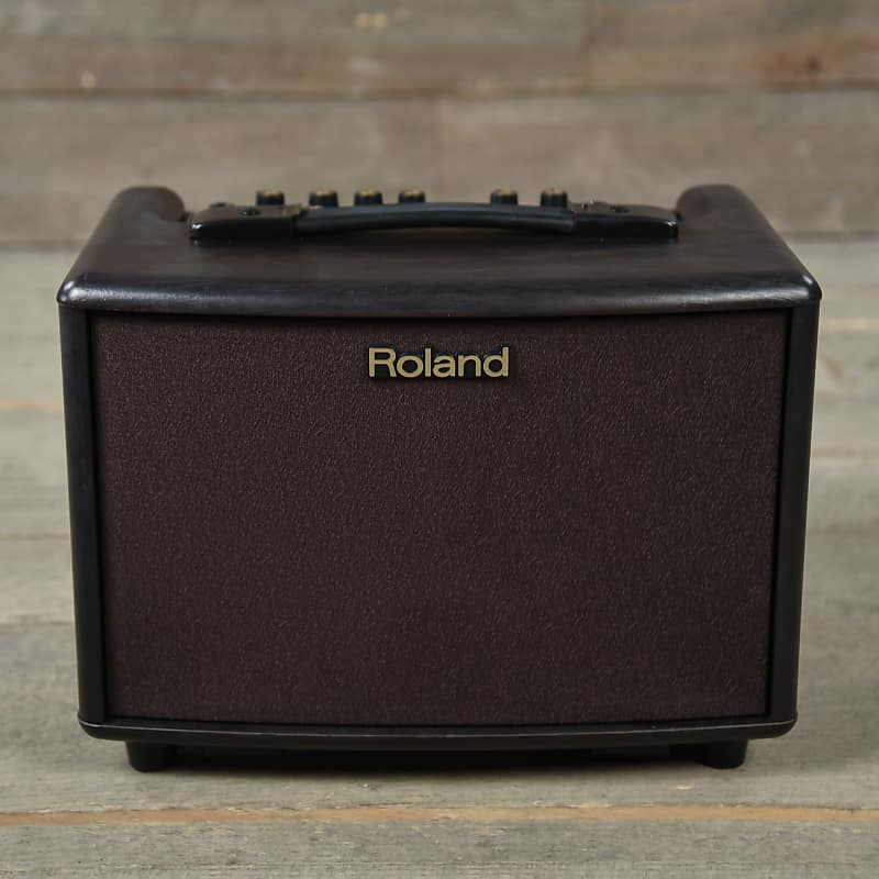 roland ac 33 battery powered acoustic chorus amp rosewood reverb. Black Bedroom Furniture Sets. Home Design Ideas