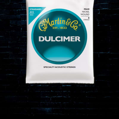 Martin M640 Nickel Wound Dulcimer Strings