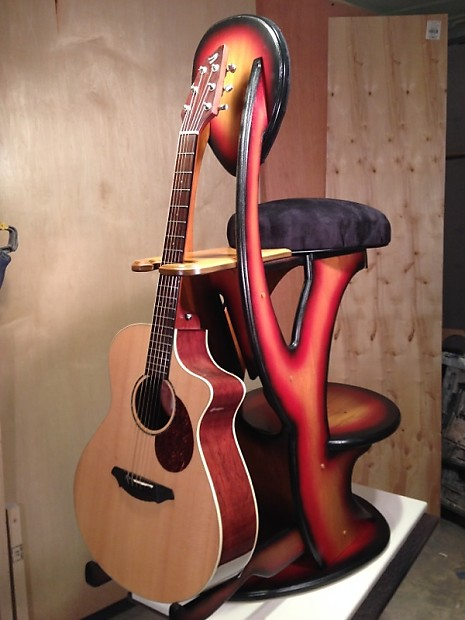 Guitar Stool W Stand Quot Really Cool Stool Quot Standard Reverb