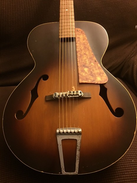 Vintage Archtop Acoustic