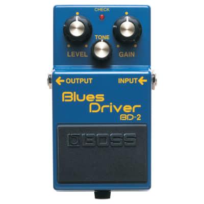 BOSS BD-2 Blues Driver Overdrive Guitar Effect Pedal