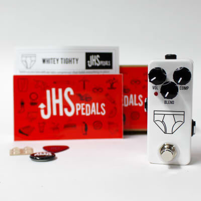 JHS Pedals Whitey Tighty Mini FET Compressor Guitar Effect Pedal - NEW