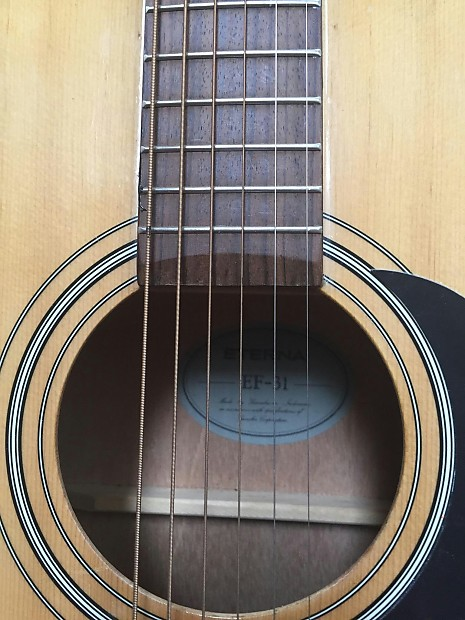 Yamaha Eterna Ef Acoustic Guitar