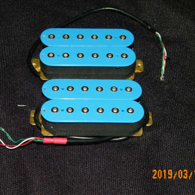 EarCandy Lucidity Pickups W Alnico 5 Mags  High output Tone Rush Humbucker  See Video