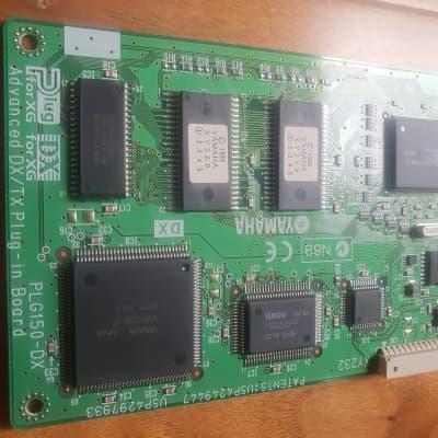 Yamaha PLG150-DX      Analogue Modelling Expansion Card for YAMAHA Motif es s90es cs6x dx200