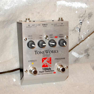 Korg ToneWorks 104ds Hyper Distortion Pedal for sale