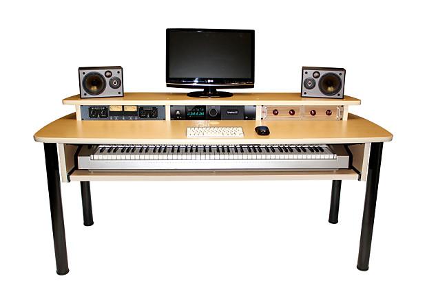 Bazel Studio Desk Excel Recording Studio Desk 2017 Maple