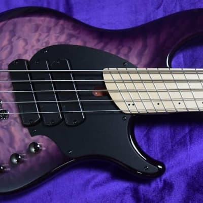 Dingwall Combustion (5-String), Ultra Violet / Maple / 3 Pickups  *In Stock!