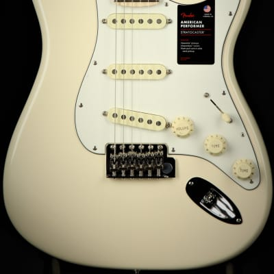 Fender Channel Exclusive American Performer Stratocaster - Olympic White for sale
