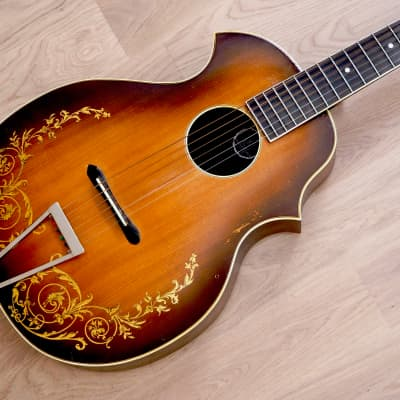 1930s Kay Kraft Style A Venetian Vintage Archtop Acoustic Guitar w/ Case, Stromberg-Voisinet for sale
