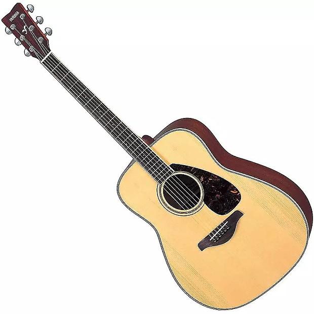 yamaha fg720s-12 12-string folk acoustic guitar | reverb