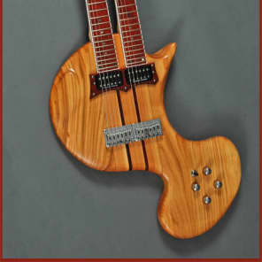 Custom  REK Portato Guitar two-handed tapping touch. Like a doubleneck double neck Chapman Stick for sale