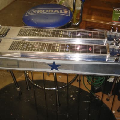 Thomas special addition D-10 loaded 8 + 8 Blue & Chrome