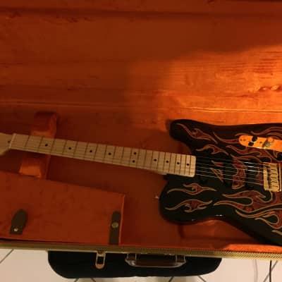 Fender James Burton Signature Telecaster Red Paisley Flames for sale