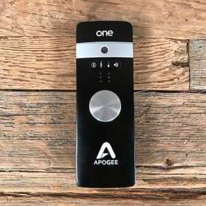 Apogee ONE 2x2 24-Bit 96kHz USB Audio Interface for iOS and Mac