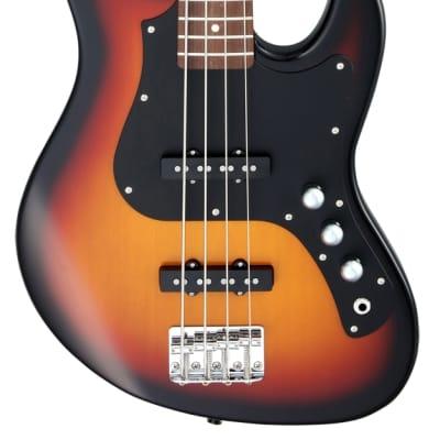 FGN Bassgitarre, Boundary Mighty Jazz, 3-Tone Sunburst for sale