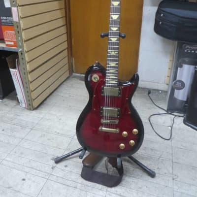 keith urban electric guitar Red Black for sale