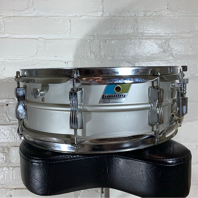 early 1970s ludwig acrolite snare drum 5 x14 cle reverb. Black Bedroom Furniture Sets. Home Design Ideas