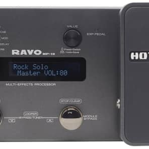 Hotone Ravo MP10 Multi-Effects Guitar Processor with Audio Interface for sale