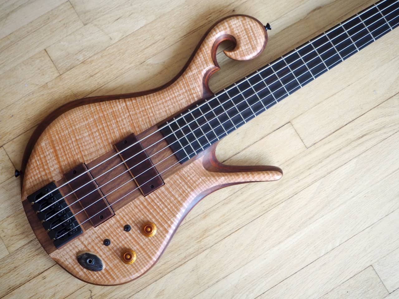 2015 carl thompson custom 5 string electric bass guitar reverb. Black Bedroom Furniture Sets. Home Design Ideas