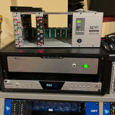 Solid State Logic X-Rack with 1 XR625 and 1 XR425 2010s