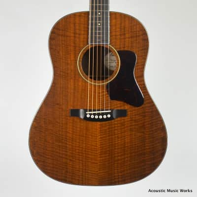 Bourgeois Bourgeois Blues, NOS, Custom Slope D, Dreadnought, All Walnut - VIDEO for sale
