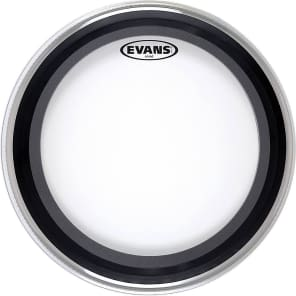 Evans BD24EMAD EMAD Clear Bass Drum Head - 24""