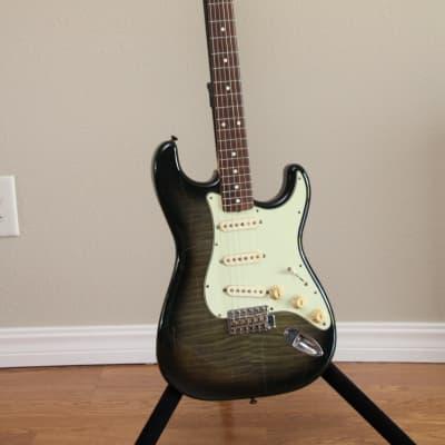 Fender1962 Reissue Foto Flame Stratocaster MIJ 1993 Gray for sale