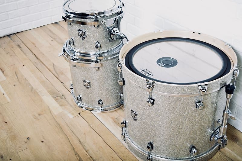 SJC Custom Maple USA made drum set kit in near mint condition-drums for sale