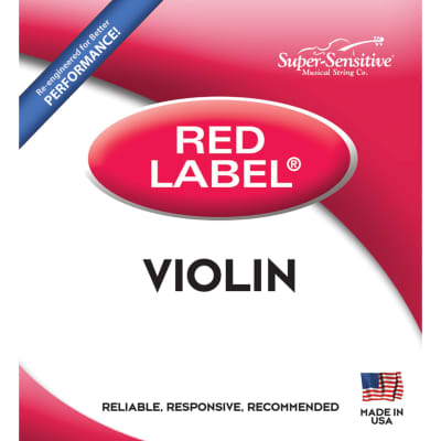 Super-Sensitive 12107 4/4 Violin String Set - Medium